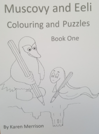 colouring book front page